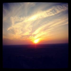 mirador puesta de sol